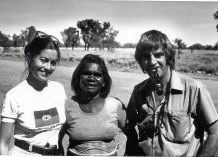"Gabi O""Sullivan, Penny Luck and Fred Hollows"