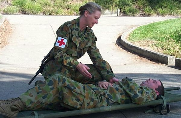 combat paramedic job australia